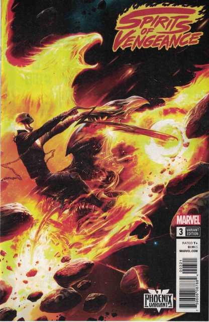 Spirits of Vengeance #3 Unlocked Francesco Mattina Phoenix Variant Marvel Legacy
