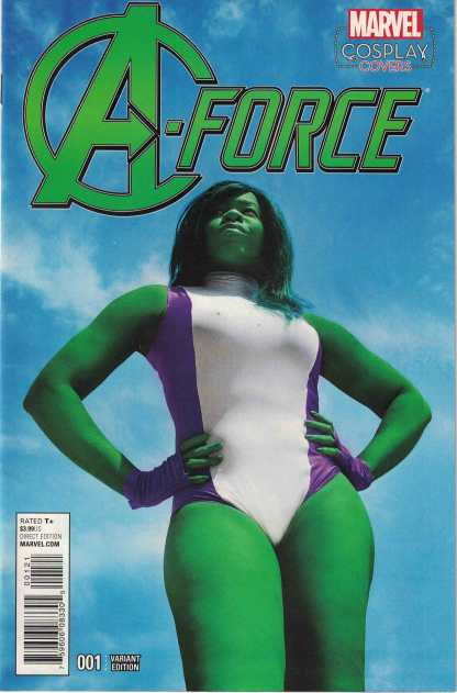 A-Force #1 1:15 Cosplay Variant Marvel 2016