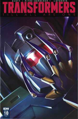 Transformers Till All are One #10 1:10 Marcelo Matere Variant IDW 2016