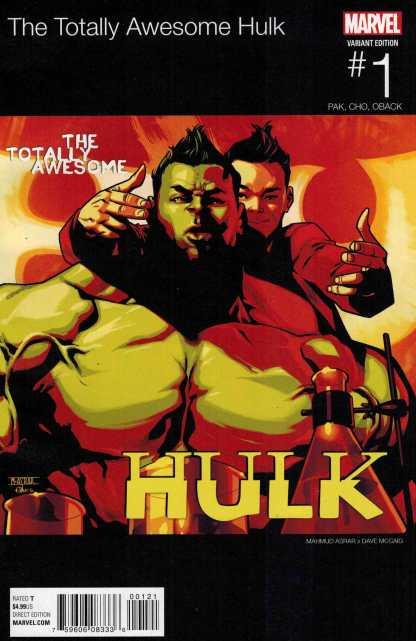 Totally Awesome Hulk #1 Hip Hop Variant Marvel ANAD 2015