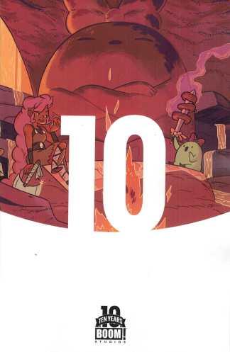 Help Us Great Warrior #1 1:10 Ten Years of Boom Anniversary Variant