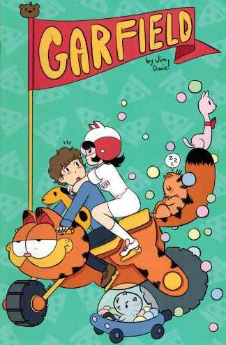Garfield #17 Baltimore Comic Con Exclusive Variant Kaboom! HTF