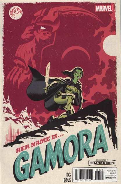Gamora #3 1:25 Michael Cho Variant Guardians of the Galaxy Marvel 2017 HTF Rare