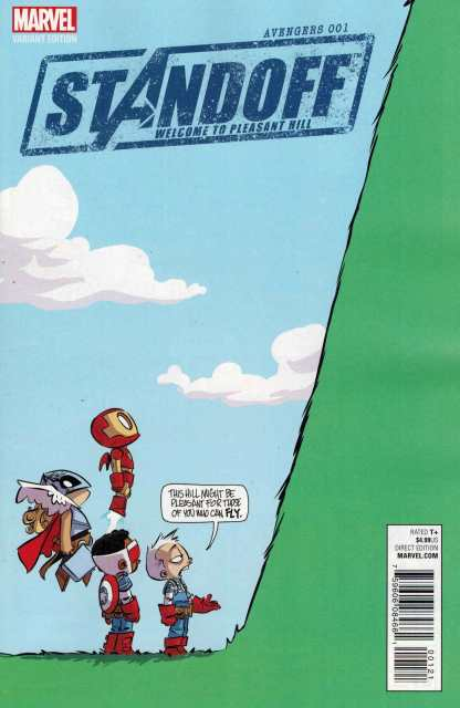 Avengers Standoff Welcome to Pleasant Hill #1 Skottie Young Baby Variant