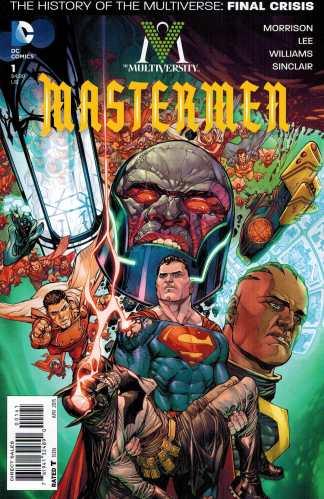 Multiversity Mastermen #1 1:50 Yanick Paquette Variant DC 2015 Grant Morrison