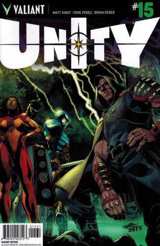 Unity #15 1:20 Chriscross Variant Valiant