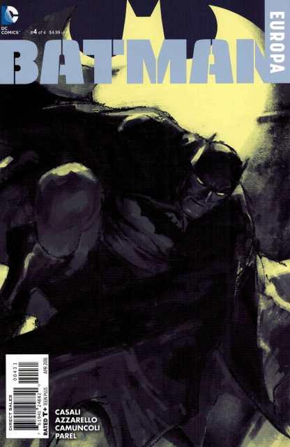 Batman Europa #4 1:50 Parel Black and White Variant DC 2015