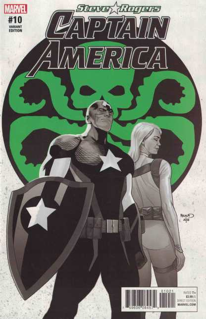 Captain America Steve Rogers #10 Rendaud ComicsPRO Variant Marvel 2016