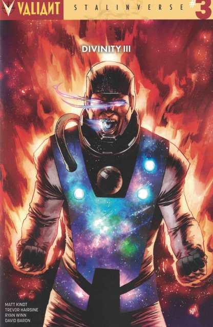 Divinity III Stalinverse #3 1:50 Gorham Variant Cover E Valiant 2016 HTF Rare
