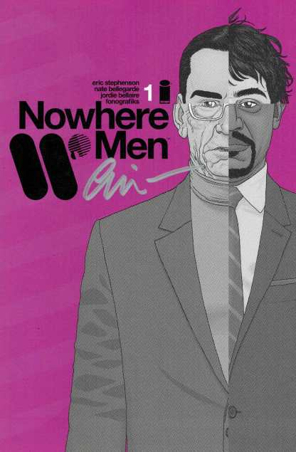 Nowhere Men #1 Comicspro Exclusive Variant Signed by Eric Stephenson