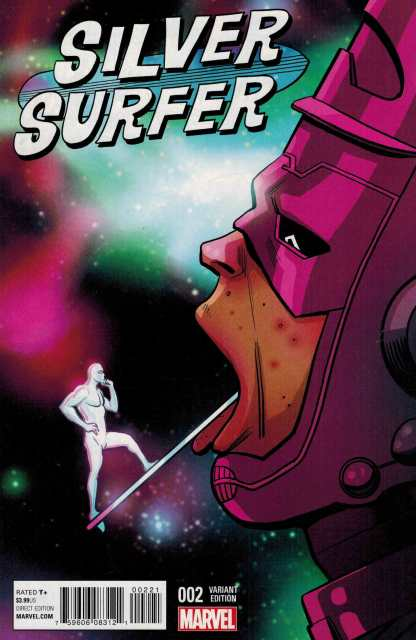 Silver Surfer #2 1:25 Zdarsky and Chums Variant Marvel ANAD 2016