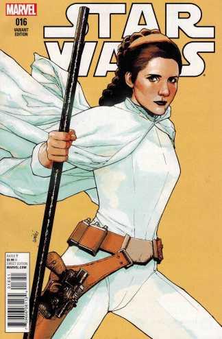 Star Wars #16 1:25 Lenil Francis Yu Variant Marvel 2015 Leia