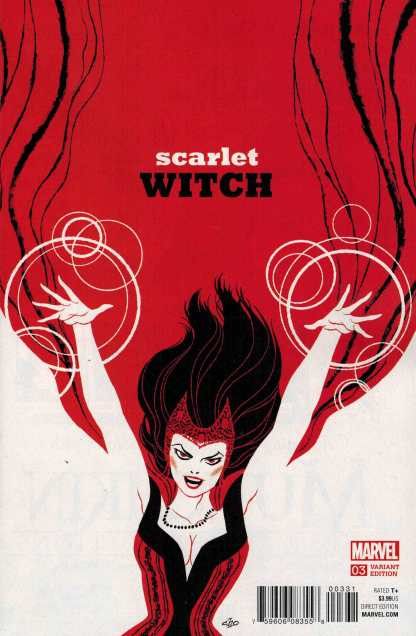 Scarlet Witch #3 1:20 Michael Cho Variant Marvel ANAD 2015