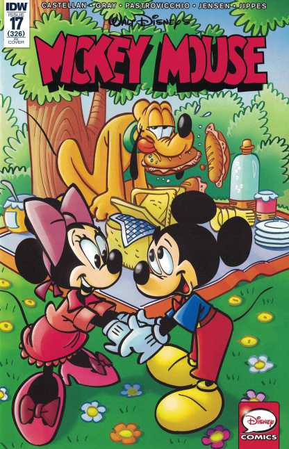 Mickey Mouse #17 1:10 Marco Gervasio Retailer Incentive Variant RI IDW