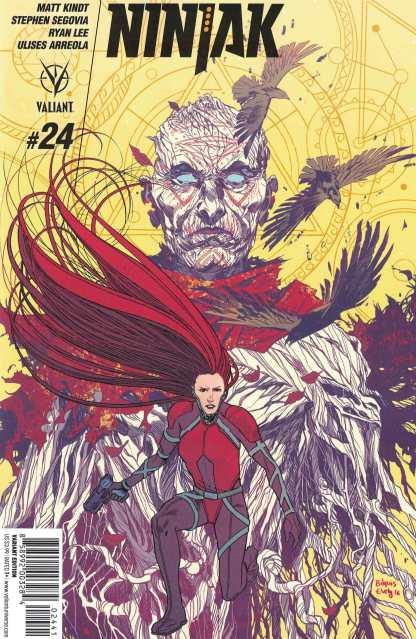 Ninjak #24 1:20 Evely Variant Cover D Valiant 2015