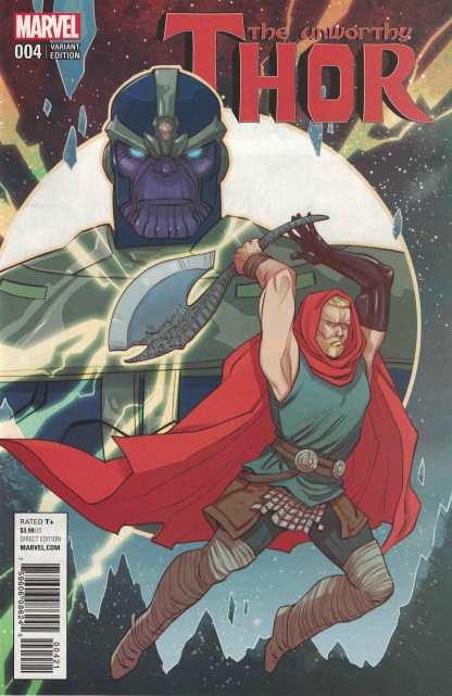 Unworthy Thor #4 1:25 Marguerite Sauvage Variant Marvel 2016
