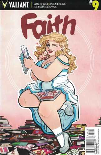 Faith #9 1:10 Jenn St. Onge Variant Cover D Valiant 2016