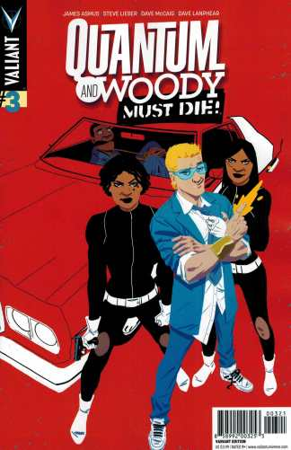 Quantum and Woody Must Die #3 1:20 Kano Variant Valiant 2015