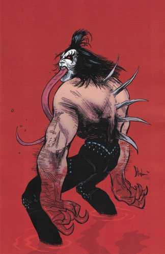 KISS Demon #3 1:25 Kyle Strahm Variant Cover G Virgin Dynamite 2017