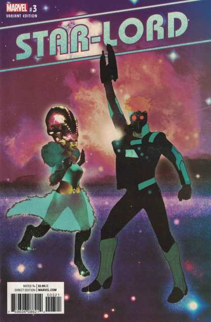 Star-Lord #3 1:25 Irving Variant Marvel NOW 2016