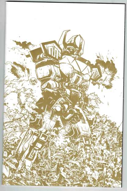 Mighty Morphin Power Rangers #1 1:200 Paul Pope Gold Foil Variant NM/NM-