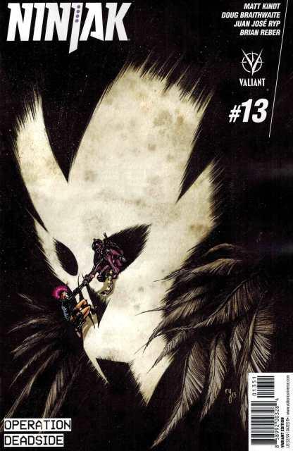 Ninjak #13 1:20 Lee Variant Valiant 2015