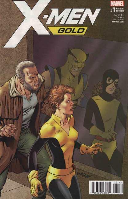 X-Men Gold #1 1:25 Bob McLeod Classic Variant Marvel 2017