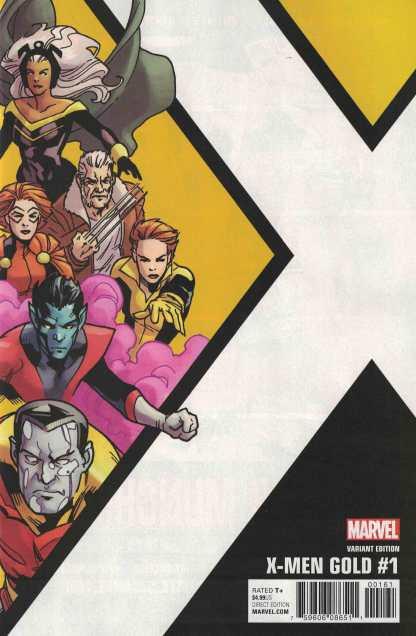 X-Men Gold #1 1:10 Leonard Kirk Corner Box Variant Marvel 2017