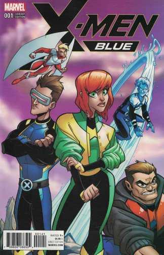 X-Men Blue #1 1:50 Bill Martin Variant Marvel 2017