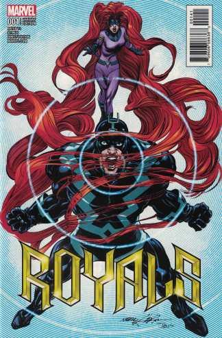 Royals #1 1:15 Neal Adams Variant Marvel 2017 Black Bolt Medusa
