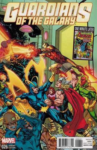 Guardians of the Galaxy #26 1:15 Raney Avengers Variant Marvel NOW
