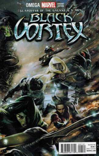Black Vortex Omega Connecting B Variant Marvel Guardians of the Galaxy X-Men