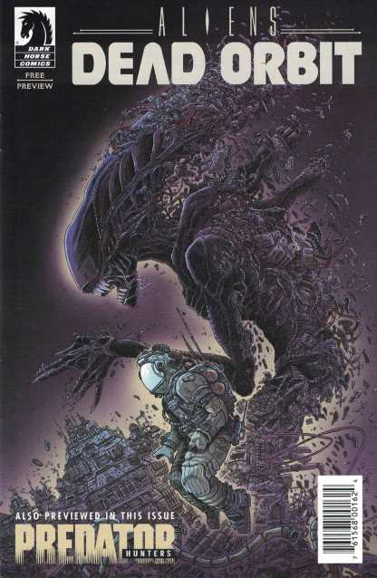 Aliens Dead Orbit Ashcan C2E2 Comics Pro Dark Horse 2017