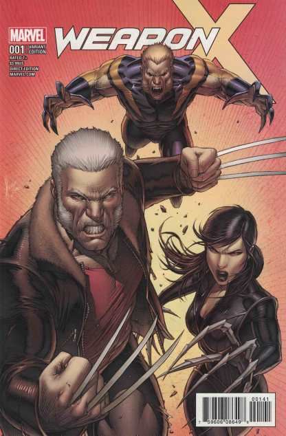 Weapon X #1 1:25 Dale Keown Variant Marvel 2017 Old Man Logan Sabretooth