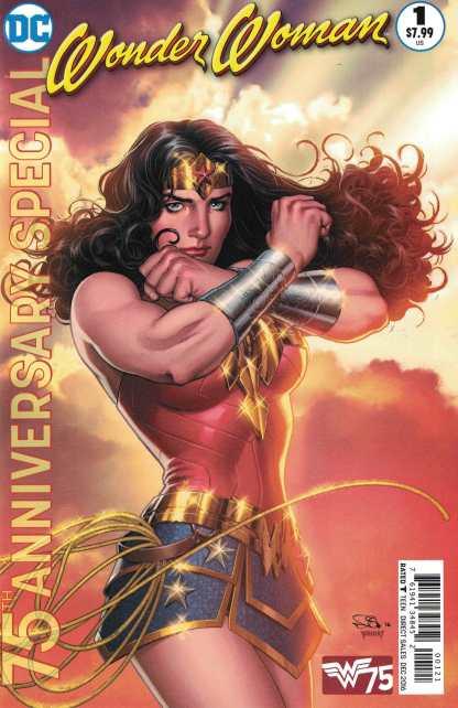 Wonder Woman 75th Anniversary Special Nicola Scott Variant DC