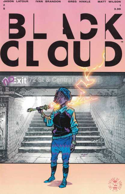 Black Cloud #1 Cover A First Print Image 2017