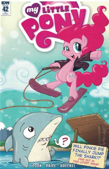 My Little Pony Friendship is Magic #42 1:10 Retailer Incentive Variant RI IDW
