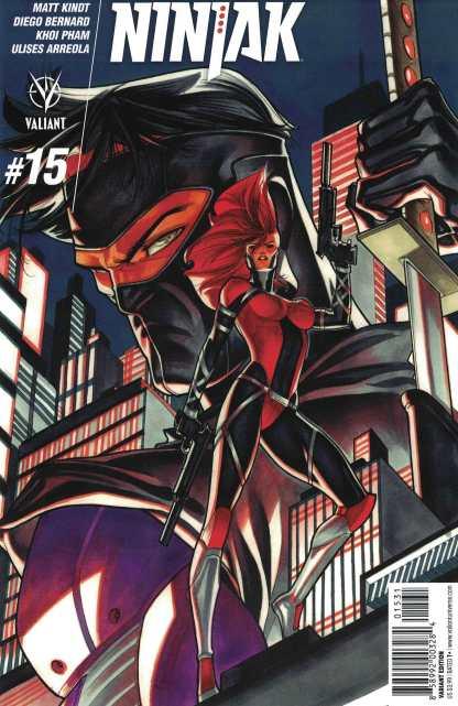 Ninjak #15 1:20 Silas Variant Cover C Valiant 2015