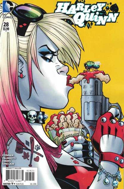 Harley Quinn #28 1:25 Amanda Conner Variant DC New 52 2013