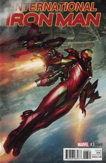 International Iron Man #3 1:25 Skan Variant Marvel ANAD 2016