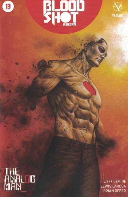 Bloodshot Reborn #13 1:20 Choi Variant Cover D Valiant 2015