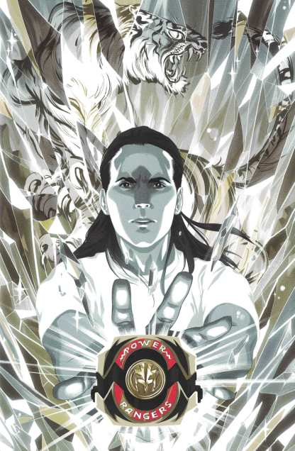 Mighty Morphin Power Rangers #15 1:30 Goni Montes Variant Boom 2016 White Tiger