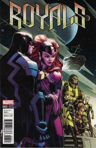 Royals #3 1:25 Ed McGuinness Variant Marvel 2017