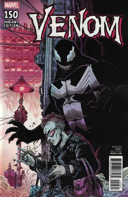 Venom #150 1:25 James Stokoe Variant Marvel Legacy 2017