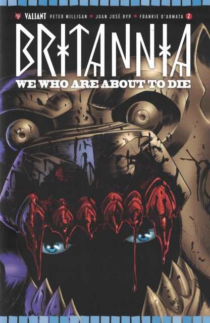 Britannia We Who Are About To Die #2 1:20 Gorham Cover D Valiant 2017