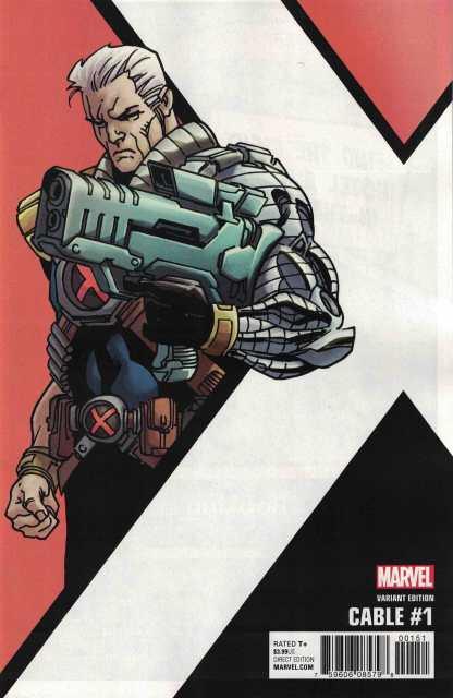 Cable #1 1:10 Leonard Kirk Corner Box Variant Marvel 2017