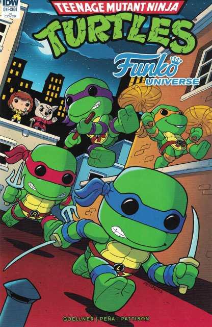 Teenage Mutant Ninja Turtles Funko Universe 1:25 RI Variant IDW 2017 TMNT