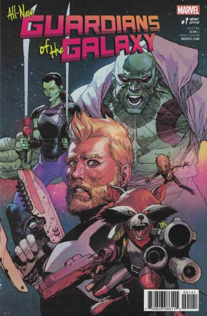 All New Guardians of the Galaxy #1 1:50 Leinil Francis Yu Variant Marvel 2017