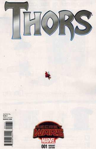 Thors #1 1:15 Renaud Ant Sized Variant Marvel Secret Wars 2015
