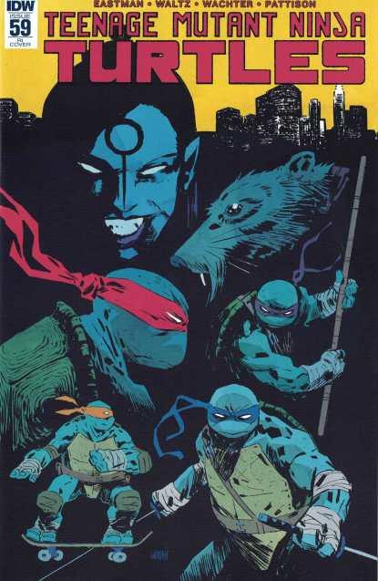 Teenage Mutant Ninja Turtles #59 1:10 Retailer Incentive Variant RI TMNT IDW